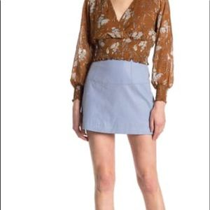 Free People Days in the Sun Faux Suede